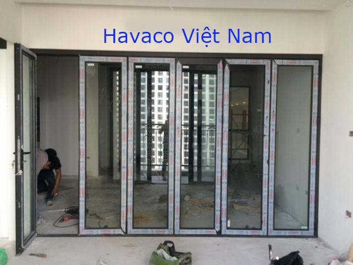Cửa nhôm Xingfa kính dán an toàn