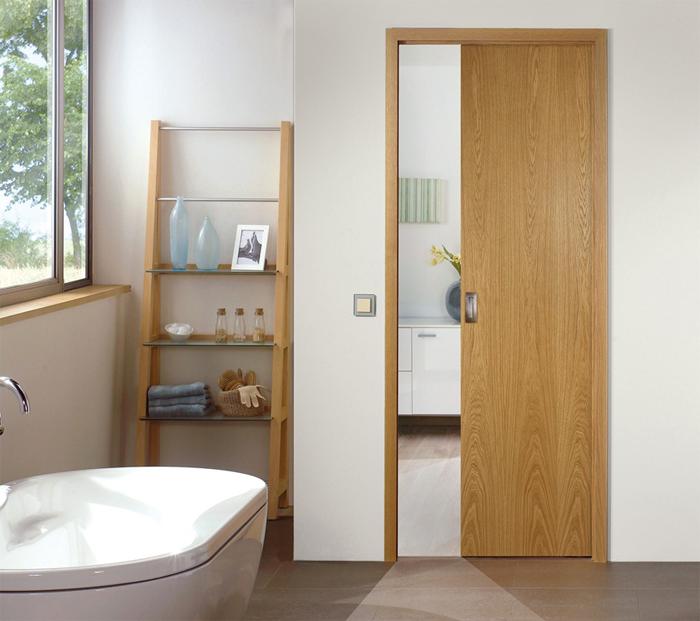 Cửa gỗ cho nhà vệ sinh