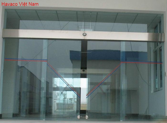 Cửa kính mở tự động Hàn Quốc