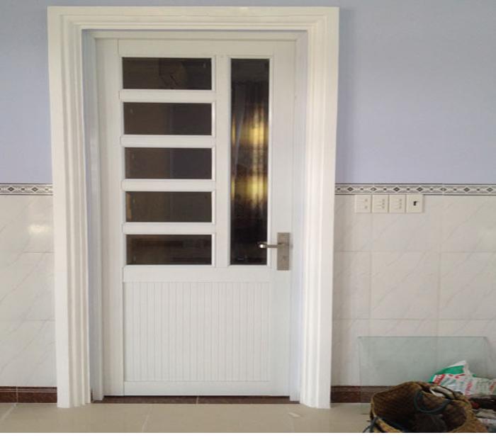 Mẫu cửa nhôm kính 1 cánh