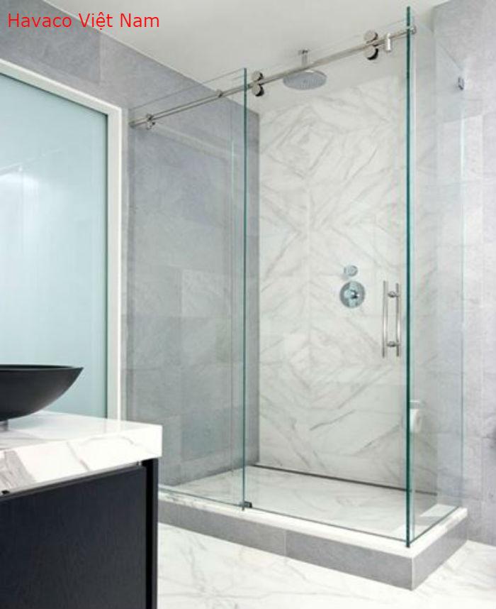 Cửa kính lùa nhà tắm