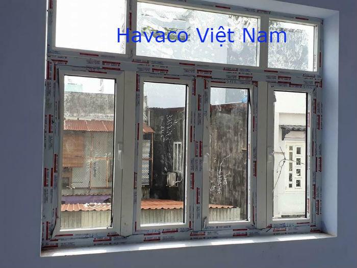 Cửa nhôm Xingfa màu trắng đẹp