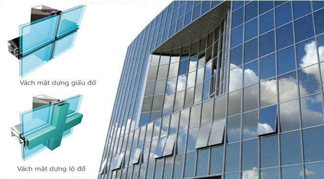 Phong cách cho ngôi nhà mới với vách mặt dựng