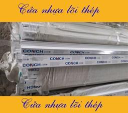 Báo giá cửa nhựa lõi thép Conch profile