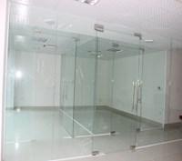 Lắp đặt cho cửa kính, vách ngăn kính, cabin tắm, cửa nhôm nhà anh Thức - Đông Ngạc, Bắc Từ Liêm, Hà Nội