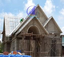 Chiều cao nhà theo thước lỗ ban và độ cao nền tương ứng