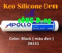Bạn có biết keo silicon màu đen?