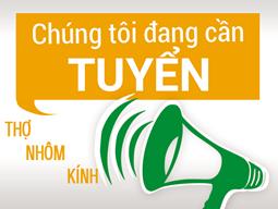 Việc làm kỹ thuật nhôm kính tại Hà Nội