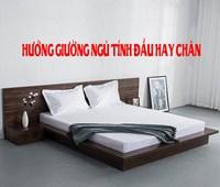 Hướng giường ngủ là hướng đầu giường hay cuối giường