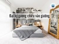 Cách để gương trong phòng ngủ