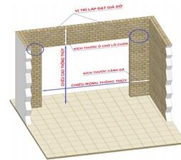 Kích thước cửa cuốn gara được để như thế nào cho hợp lý