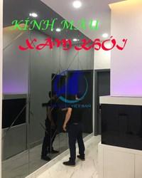 Báo giá gương kính màu xám khói Theo kích thước yêu cầu